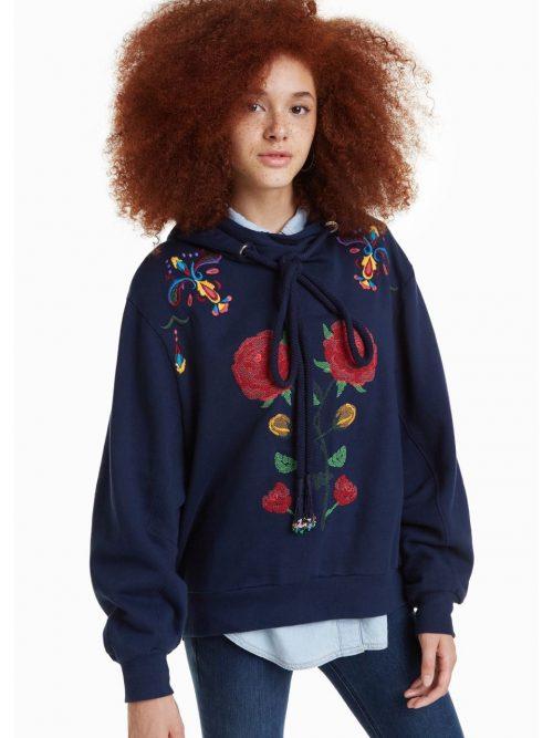 Desigual Sweatshirt Carla with Hood