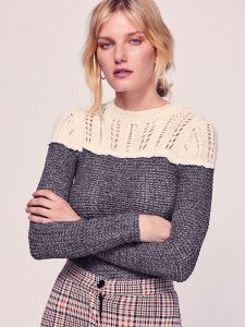 Free people Snowflake Swit Top