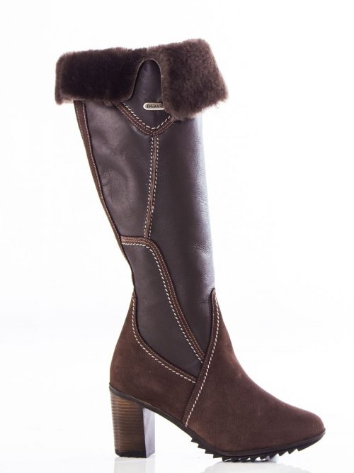 Pajar Tall Leather Boots Riviera Brown