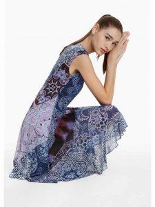 Desigual Blue Dress Rasha