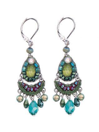 Ayala Bar Classi Earrings Green