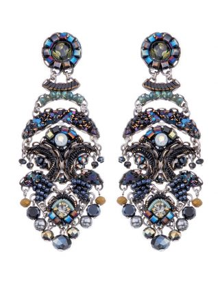 Ayala Bar Earring Classic Blue Large 2019