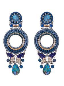 Ayala Bar Classic Blue Large earring 2019