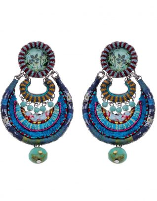 Ayala Bar Hip Blue Earring 2019