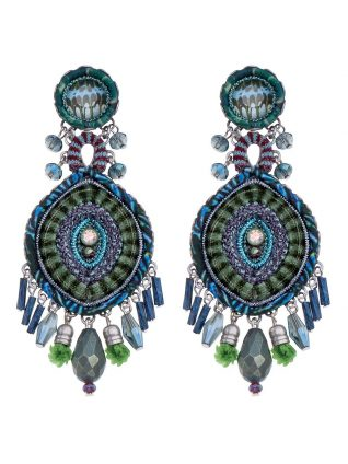 Ayala Bar Hip Blue Earrings 2019