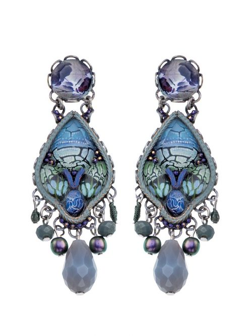Ayala Bar Earring Radiance Blue 2019