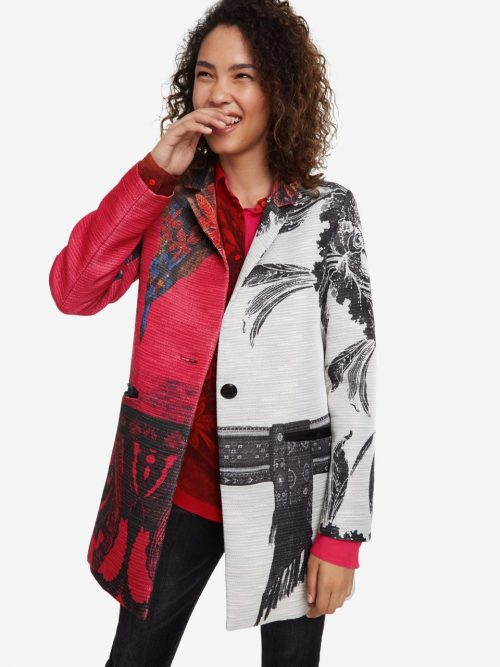 Desigual print Coat Sebastian Spring 2019