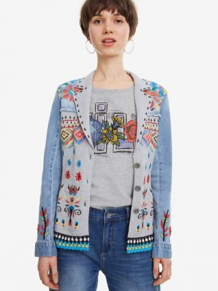 Desigual Fabric Patches Jacket Barbara